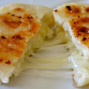 Arepa de queso Panaderia buke pan artesanal chia cajica